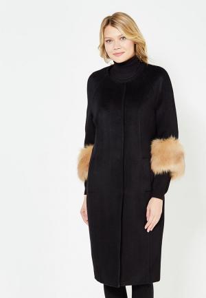 Пальто TrendyAngel. Цвет: черный