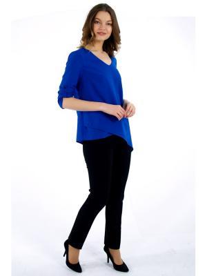 Блузка PRIZZARO. Цвет: синий