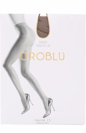 Капроновые колготки Oroblu. Цвет: светло-коричневый