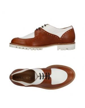 Обувь на шнурках L'F SHOES. Цвет: коричневый
