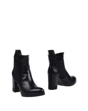 Полусапоги и высокие ботинки HÉCOS. Цвет: черный