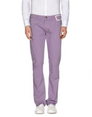 Повседневные брюки CAMOUFLAGE AR AND J.. Цвет: розовато-лиловый