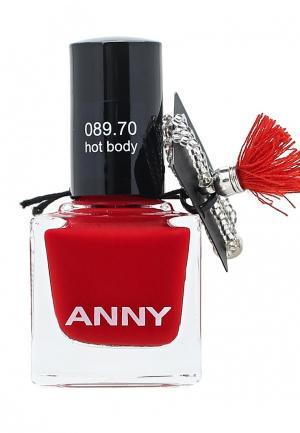 Лак Anny. Цвет: красный