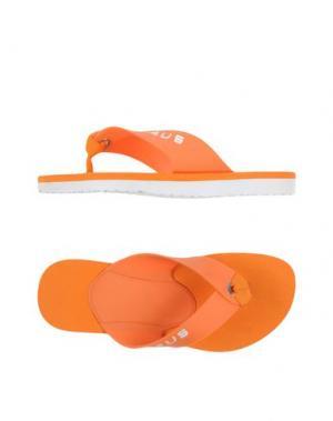 Вьетнамки CESARE PACIOTTI 4US. Цвет: оранжевый