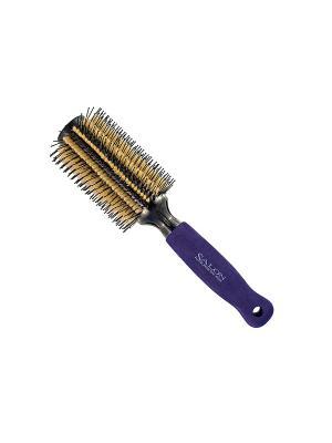 Брашинг Salon Professional 27096VEN, облегченный, d 33/65 мм, L 240 мм.. Цвет: синий