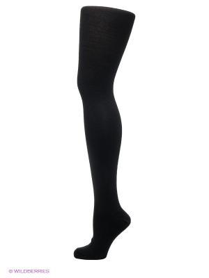 Колготки зимние с шерстью и хлопком ARTICA 120 POMPEA. Цвет: черный