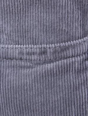 Вельветовые брюки il Gufo. Цвет: серый