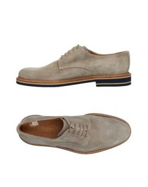 Обувь на шнурках SIMONE MARIOTTI. Цвет: серый