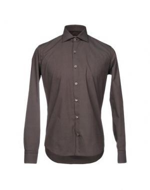 Pубашка BARBATI. Цвет: баклажанный