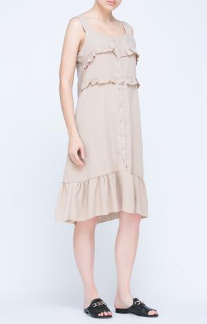 Платье Бежевое Trends Brands