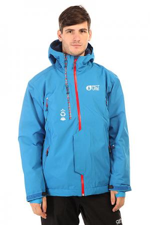 Куртка  Base Blue Picture Organic. Цвет: синий