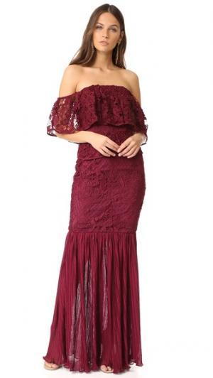 Вечернее платье Shadow Dancer Talulah. Цвет: бордовый