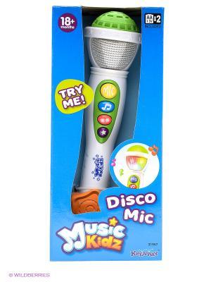 Микрофон Keenway. Цвет: белый, зеленый, оранжевый