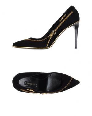 Туфли SANDRO VICARI. Цвет: черный