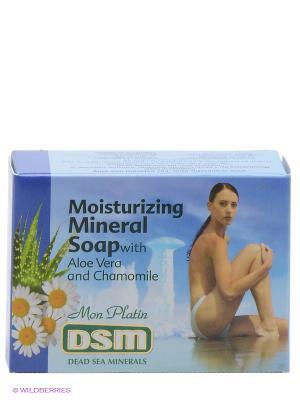 Увлажняющее минеральное мыло, 125 г Mon Platin DSM. Цвет: синий