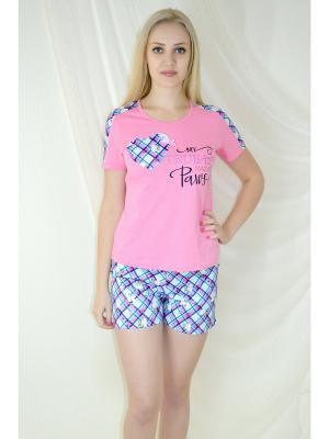 Пижама Miata. Цвет: розовый, голубой