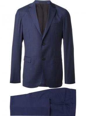 Классический костюм Z Zegna. Цвет: синий