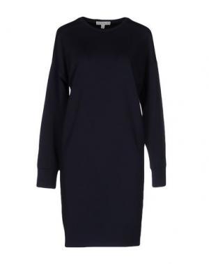 Короткое платье DAGMAR. Цвет: темно-синий