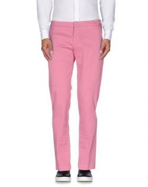 Повседневные брюки ENTRE AMIS. Цвет: светло-фиолетовый