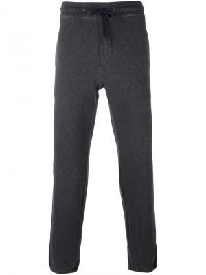 Спортивные брюки на шнурке Tomas Maier. Цвет: чёрный