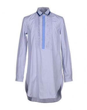 Pубашка RICHARD NICOLL. Цвет: синий
