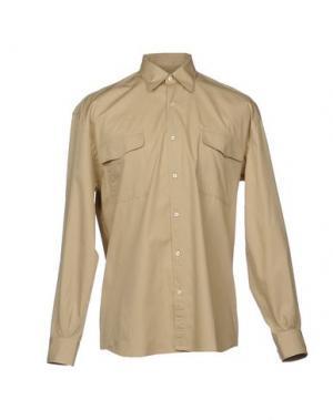 Pубашка CAMO. Цвет: песочный