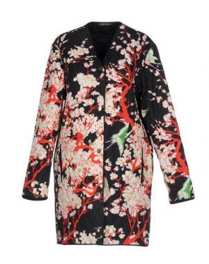 Легкое пальто LAURA URBINATI. Цвет: черный