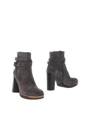 Полусапоги и высокие ботинки ZINDA. Цвет: свинцово-серый