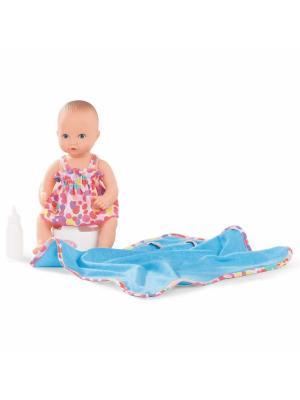 Кукла Аквини-девочка GOTZ. Цвет: белый, голубой, розовый