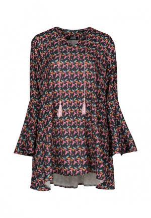 Платье iSwag. Цвет: разноцветный