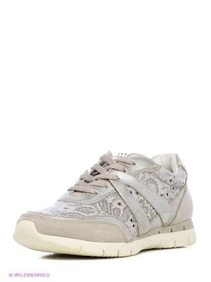 Ботинки на шнурках Marco Tozzi. Цвет: серый