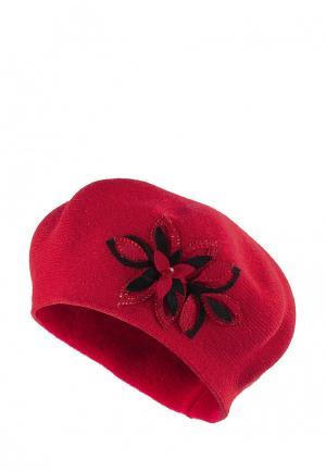 Берет StaiX. Цвет: красный