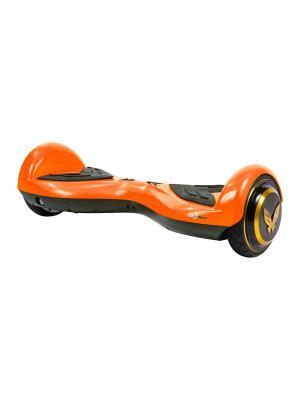 Детский гироскутер CarWalk Wings. Размер колеса 4,5 дюймов.. Цвет: оранжевый