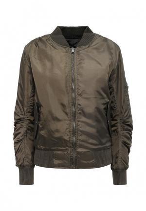 Куртка утепленная Stella Morgan. Цвет: хаки