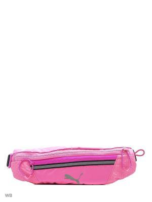 Сумка поясная PR Classic Waist Bag Puma. Цвет: черный, фиолетовый