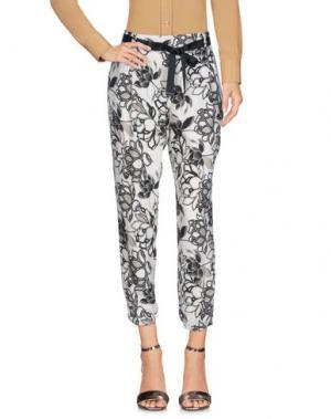 Повседневные брюки CAFèNOIR. Цвет: слоновая кость