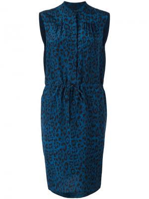 Платье Dace Christian Wijnants. Цвет: синий