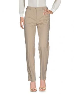 Повседневные брюки LACOSTE L!VE. Цвет: бежевый
