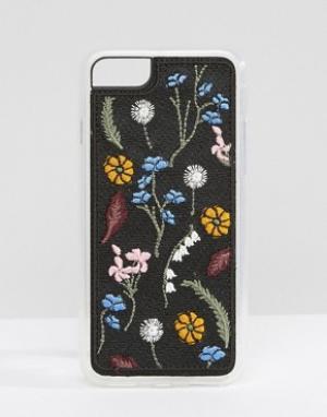 Zero Gravity Чехол для iPhone 7 с вышивкой. Цвет: мульти