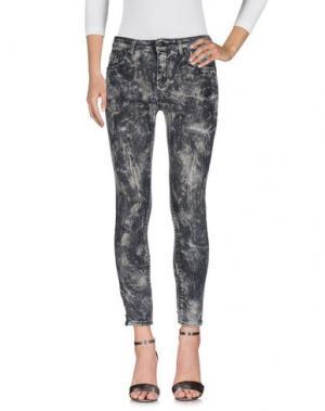 Джинсовые брюки 5PREVIEW. Цвет: серый