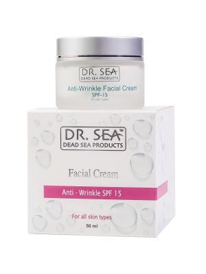 Крем для лица против морщин SPF 15 Dr. Sea. Цвет: белый
