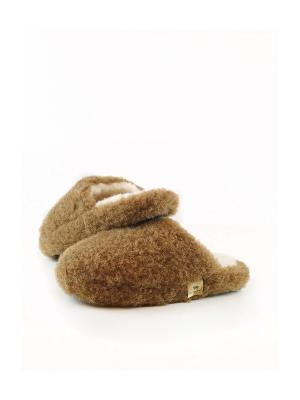 Тапочки ALWERO. Цвет: коричневый