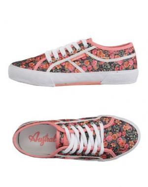 Низкие кеды и кроссовки AUSTRALIAN. Цвет: розовый