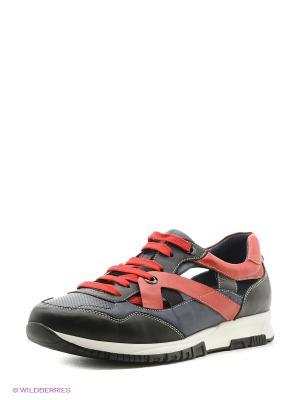 Кроссовки Dino Ricci. Цвет: черный, синий, красный