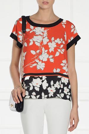 Блуза Nissa. Цвет: мультицвет