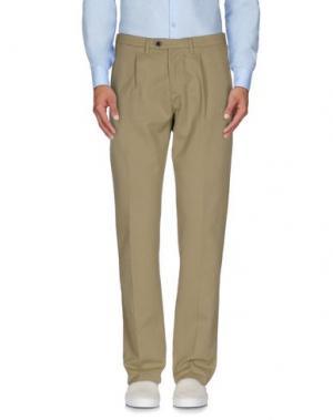 Повседневные брюки DEPARTMENT 5. Цвет: песочный