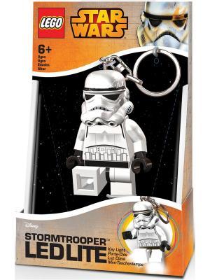 Брелок-фонарик для ключей LEGO Star Wars - Storm Trooper (Штормтрупер). Цвет: черный, белый