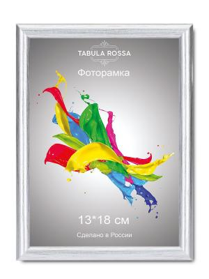 Фоторамка 13х18 №451 Tabula Rossa. Цвет: серебристый