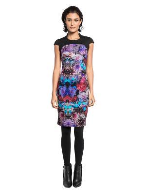 Платье APART. Цвет: черный, бирюзовый, фиолетовый, розовый