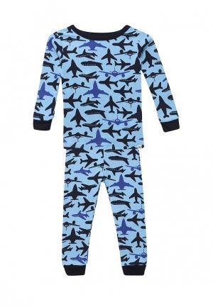 Пижама Gap. Цвет: голубой